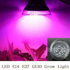 Online Shop Full spectrum <b>LED Grow</b> light <b>18W</b> E14 /E27/GU10 ...
