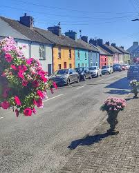 Timoleague a <b>little village</b> in West Cork full of <b>colour</b>! Keep an eye ...