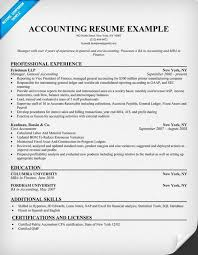 resume samples for accounting accounting resume samples senior junior accountant resume