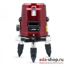 <b>Нивелир</b> лазерный <b>ADA 3D</b> LINER 3V А00132 - Лазерные ...