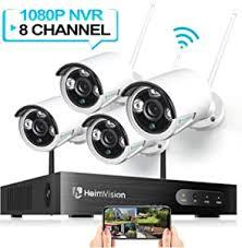 HeimVision HM241 <b>Wireless</b> Security <b>Camera System</b>, 8CH <b>1080P</b> ...