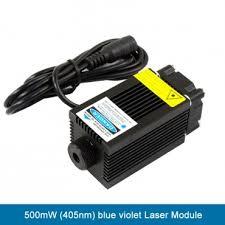 <b>500mW</b> (<b>405nm</b>) <b>blue violet</b> Laser Module -omiocnc.com