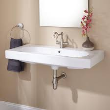 mount sinks mounted bathroom signature