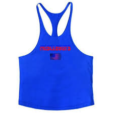 <b>American Flag Design Bodybuilding</b> Fitness Men Tank Top Golds ...