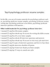 toppsychologyprofessorresumesamples lva app thumbnail jpg cb
