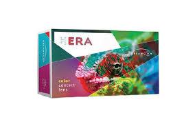Купить <b>цветные контактные линзы Hera</b> Color (2 линзы) для глаз ...