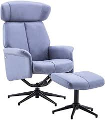 MCombo Recliner <b>Chair TV Chair</b> Tilting <b>Swivel</b> with Foot Stool ...