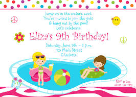 pool party birthday invitations com pool party birthday invitations as well as having up to date birthday outstanding invitation templates printable 4