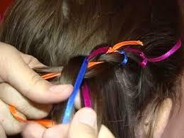 Resultado de imagem para cabelos com fitas festa junina