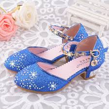 <b>SLYXSH Children</b> Princess Sandals Kids Girls Wedding Shoes High ...