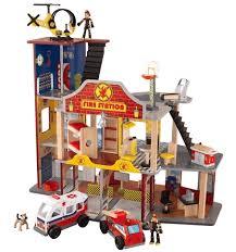 Игровой набор для мальчиков <b>KIDKRAFT Пожарно</b>-<b>спасательная</b> ...