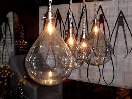hand blown glass blown glass pendant lighting