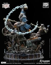 Marvel: Thor Ragnarok Comic - <b>Thor 46</b> cm Statue - Figurama ...