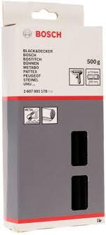 <b>Клеевой</b> стержень <b>Bosch</b> 2 607 001 178, черный — купить в ...