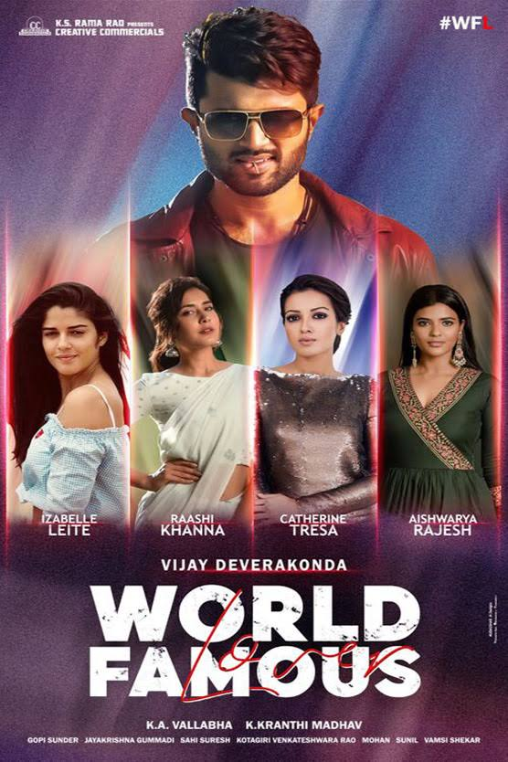 Download World Famous Lover (2020) Hindi Dubbed Movie WEB-DL 480p | 720p