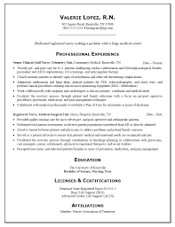 nurse resume example   sample   resume  resume examples and rn resume