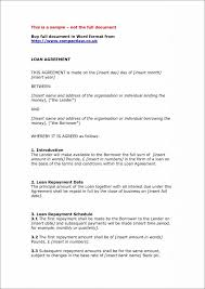 Private Child Support Agreement Template Private Agreement ... Car Loan Contract Template