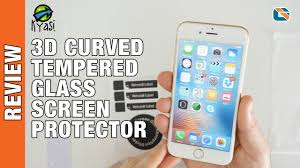 Kyasi <b>3D Curved Tempered</b> Glass Screen Protector Review ...