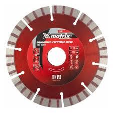 <b>Диск алмазный MATRIX</b> 73142, турбо-сегментный, 125 х 22,2 мм ...