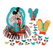 <b>Mickey Mouse Party</b> Supplies & Decorations | Oriental Trading ...