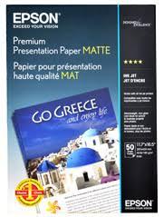 Presentation <b>Paper</b> 167gsm Heavy Weight <b>Matte A3</b> (50pcs) - <b>Epson</b> ...