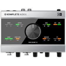 Внешняя студийная звуковая карта <b>Native Instruments</b> Komplete ...