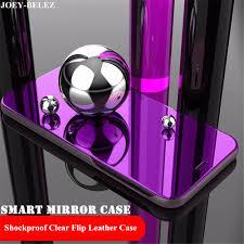 Mirror <b>Flip Case For</b> Samsung Galaxy A5 A6 A7 A8 A9 Star Plus ...