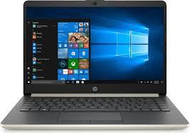 Купить <b>Ноутбук HP 14-dk0038ur</b>, 153D8EA, золотистый в ...