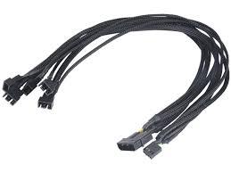 <b>Кабель Akasa Flexa</b> FP5 Silent Smart PWM Black Braided 45m ...