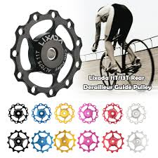 <b>1Pcs Bicycle Rear</b> Derailleur Pulley 11T 13T MTB Road Bike Rear ...