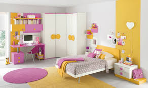 themed kids room designs cool yellow:   pink yellow girls bedroom