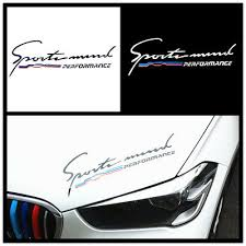 M Performance Hood <b>Decal</b> Stripe <b>Sticker</b> For BMW 3 5 series F82 ...