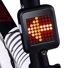 <b>Fully Intelligent Steering</b> Brake Tail Light Flasher Lamp Bicycle Ridin ...