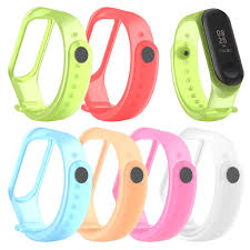 Fashion for Xiaomi Mi <b>Band</b> 3/4 Replacement <b>Sport Silicone Strap</b> ...