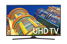 Samsung UN55KU6300 55-Inch 4K Ultra HD Smart LED TV
