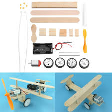 Electric Sliding Aircraft DIY Kit Student Small Invention Manual ...