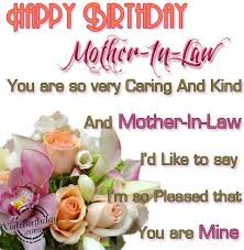 For Mother-in-Law | Happy Birthday message | Pinterest | Happy ... via Relatably.com