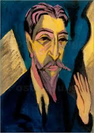 von Ernst <b>Ludwig Kirchner</b> | Bildnr.: 196783 | MerkenGemerkt - ernst-ludwig-kirchner-gemvelkirchner-191698