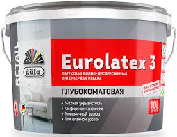 <b>Краска</b> водно-дисперсионная латексная düfa <b>Retail EUROLATEX 3</b>