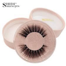 <b>SHIDISHANGPIN</b> 1 Pair mink <b>eyelashes</b> false <b>eyelash 3d mink</b> ...