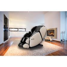 Westinghouse WES41-680 <b>Massage Recliner</b> - <b>Faux</b> Leather - <b>Black</b> ...