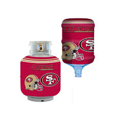 san francisco 49ers propane tank cover5 gal water cooler cover adobe tank san francisco