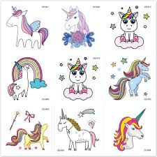 <b>1 Set</b> Emoji Stickers Super <b>Cute</b> Rainbow Unicorn Cartoon Sticker ...