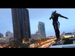 <b>Assassin's</b> Creed 4 Meets Parkour in Real Life - Comic-Con in 4K ...