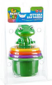 <b>Bondibon</b> Набор для <b>купания</b> Пирамидка с лягушкой — купить в ...