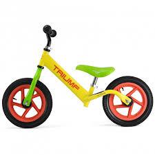 Купить ребёнку <b>Беговел Triumf Active AKB-1209W</b> Air желтый в ...