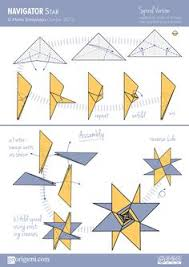 stars and origami on pinterestlearn how to fold modular origami star from only  units  diagram for navigator star  designed and diagrammed by maria sinayskaya