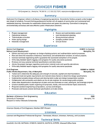 engineering resume examples engineering sample resumes livecareer engineering resume examples for students