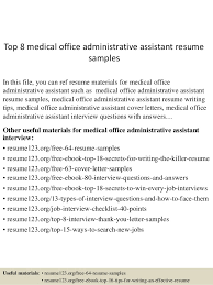 Front Office Manager Job Description Medical Office Assistant Executive Administrative  Assistant Resume Sample  xkxbl   lorexddns net  Perfect Resume Example Resume And Cover
