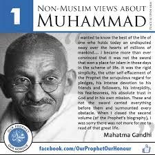 5 pandangan orang berpengaruh bukan islam tentang Nabi Muhammad s.a.w. - CariGold Forum - zMYEl